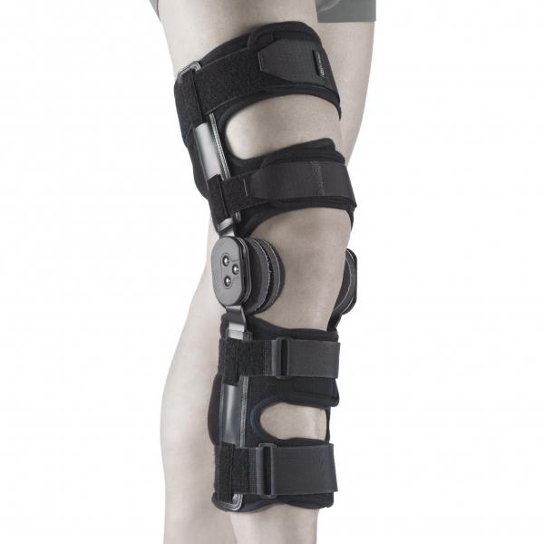 Аппарат для жёсткой фиксации коленного сустава движение суставов человека
